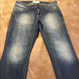 Maurices cropped jeans size 7/8